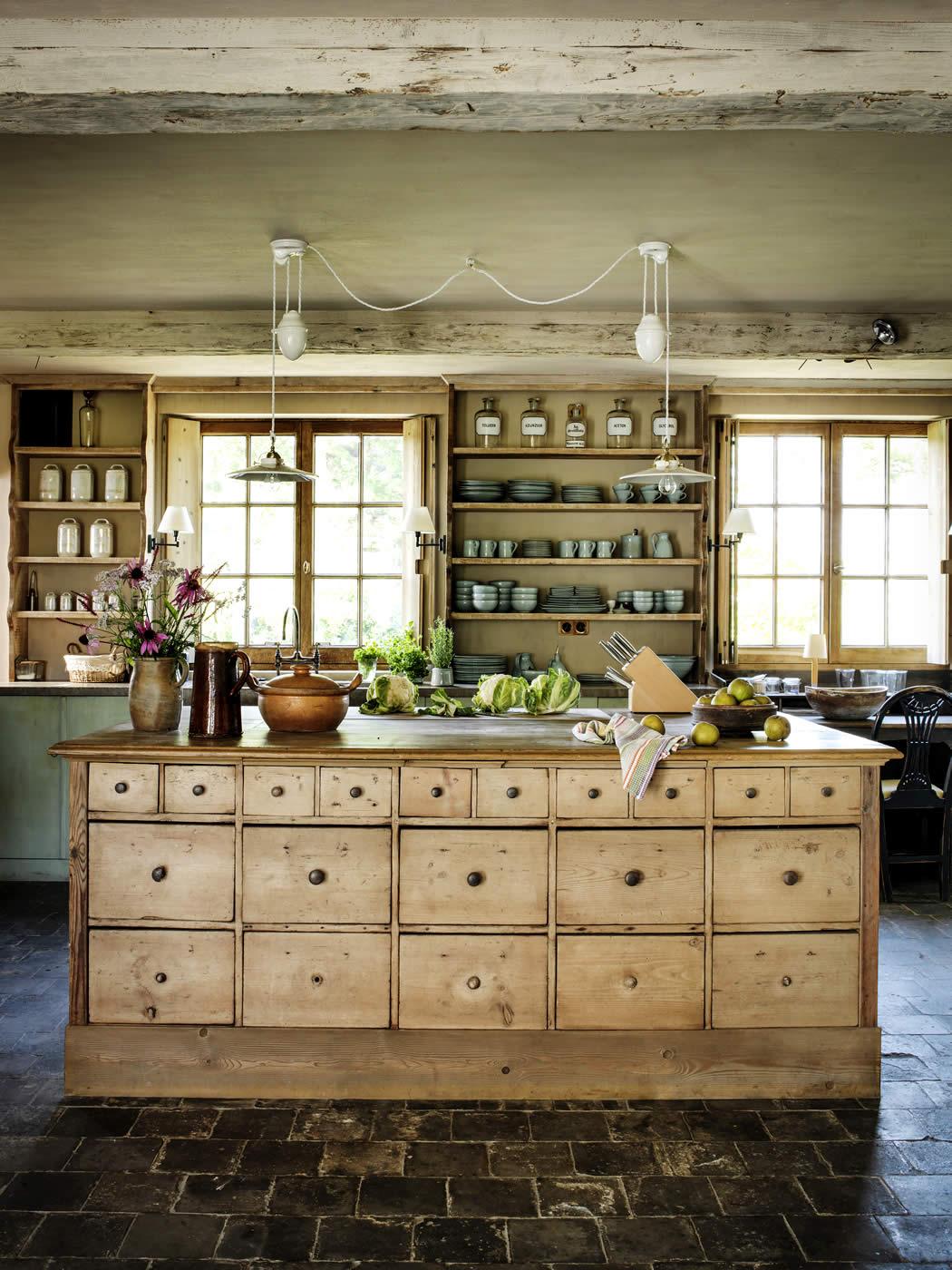 Keuken woonkamer met open keuken galerij foto 39 s van binnenlandse en moderne - Keuken woonkamer open keuken ...